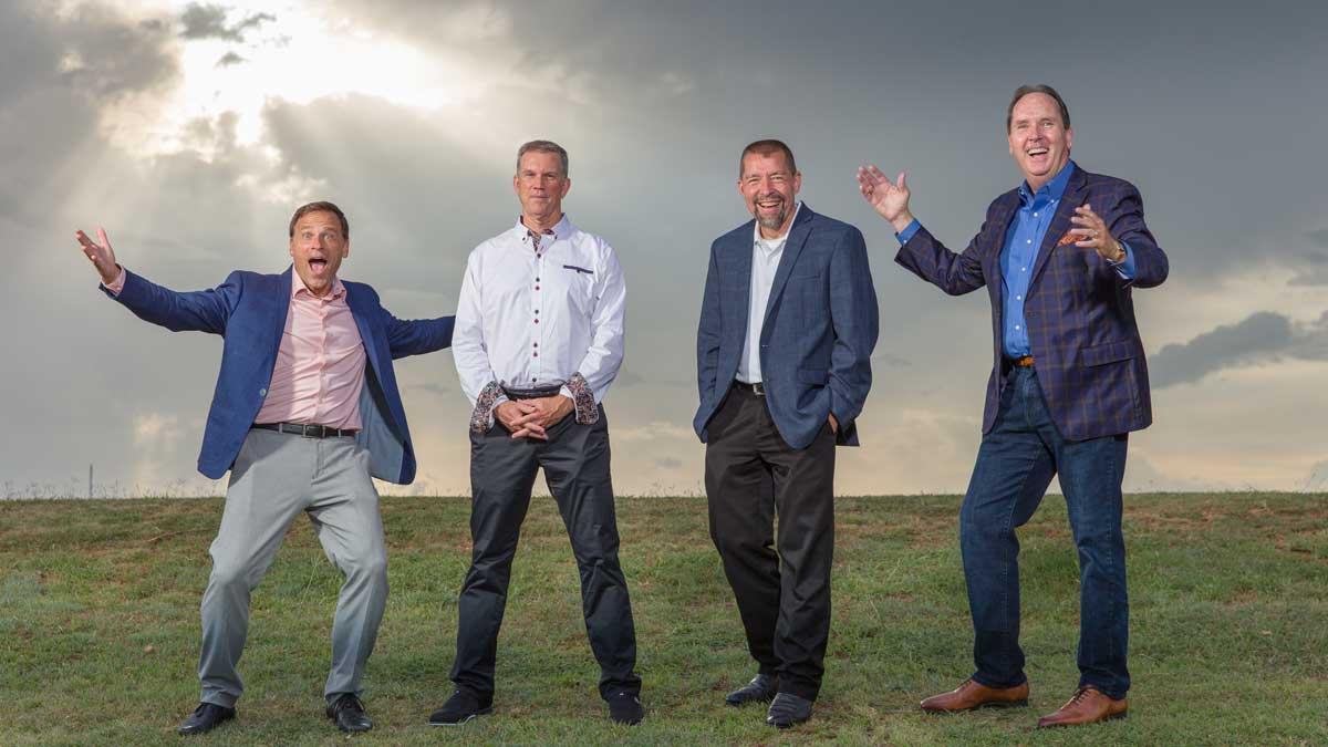"Greg Hawks, Scott Klososky, Mike Crandall, and David Woods (Photo: <a href=""https://edmondbusiness.com/author/brent-fuchs/"">Brent Fuchs</a>)"