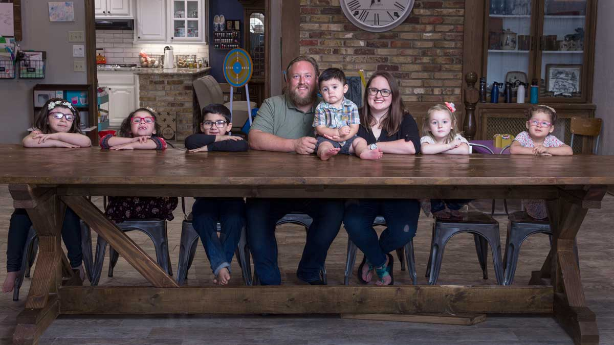 "The Loves, a family that has worked with the Anna's House Foundation (Photo: <a href=""https://edmondbusiness.com/author/brent-fuchs/"">Brent Fuchs</a>)"