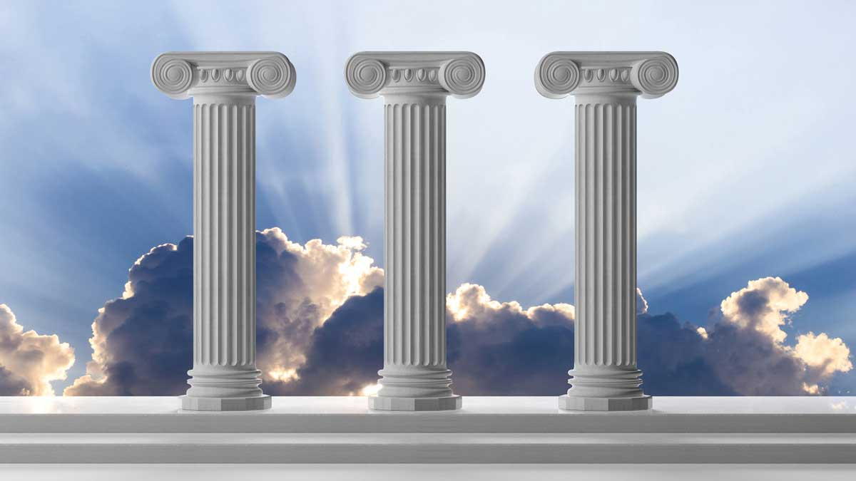 Three-pillars