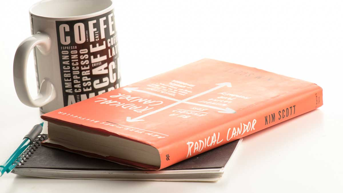 Radical Candor book on table
