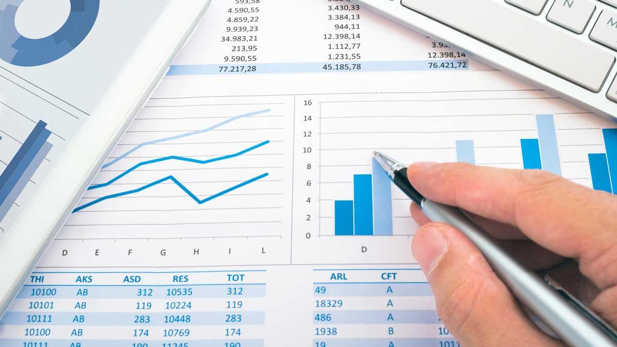 Increasing financial graphs