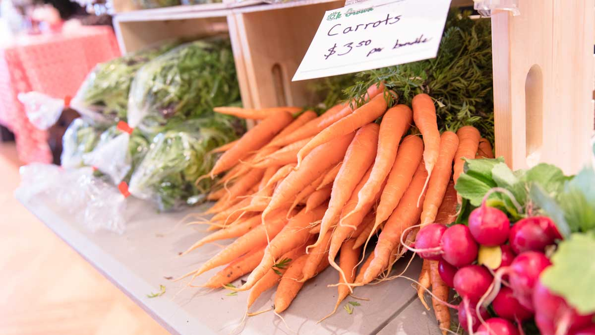 "Some of the produce available at the Edmond Farmers Market (Photo: <a href=""https://edmondbusiness.com/author/brent-fuchs/"">Brent Fuchs</a>)"