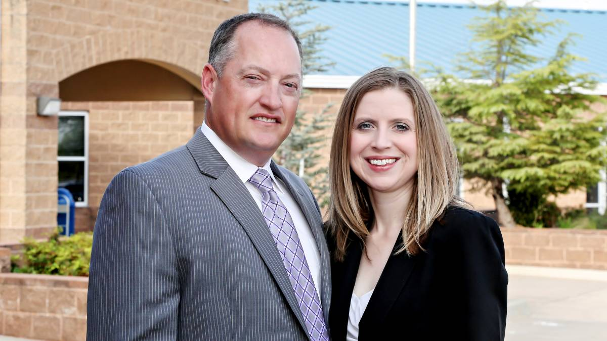 "Kip and Natasha Baird with the Baird Insurance Agency in Edmond (Photo: <a href=""https://www.facebook.com/Laura-Eckel-Photography-199198383432317/""> Laura Eckel</a>)"