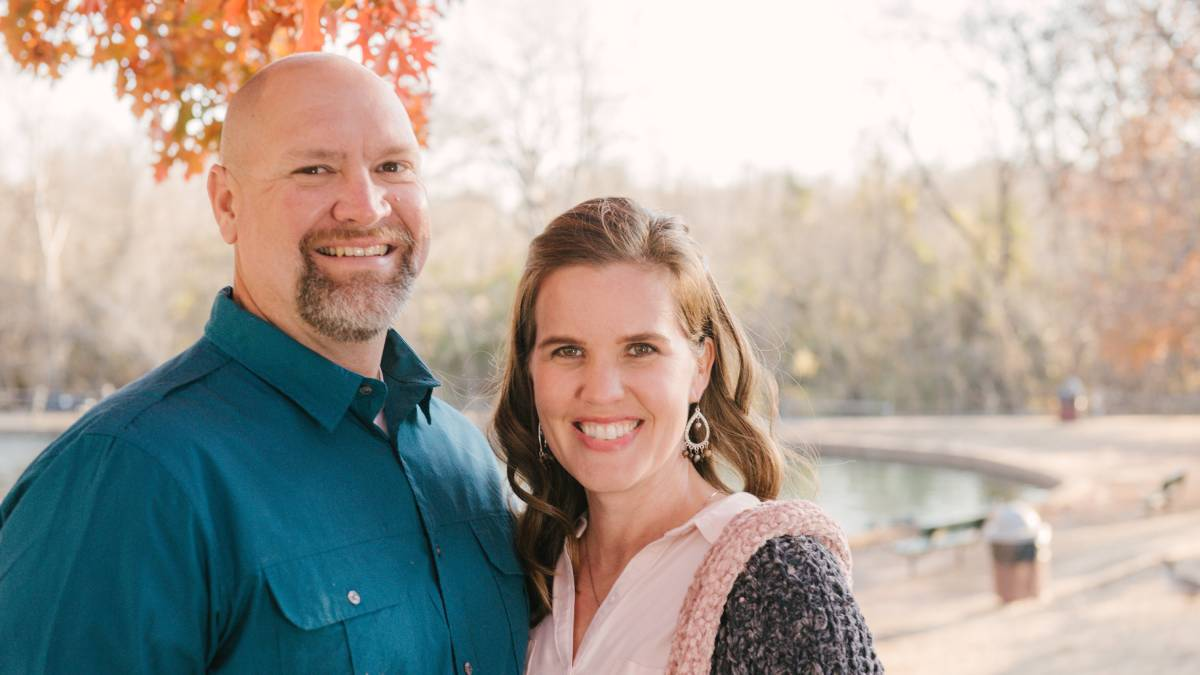 Chase and Lynsey Dalvine, owners of The Curbing Edge (Photo provided)