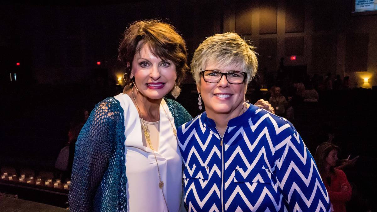 Pam Kanaly and Shelley Pulliam, co-founders of Arise Ministries (Photo provided)