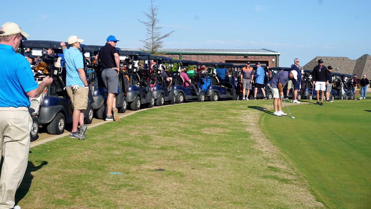 Shotgun Start at the 2021 Edmond Area Chamber of Commerce Cinco de Mayo golf tournament presented by OU Health Edmond (Photo Provided)
