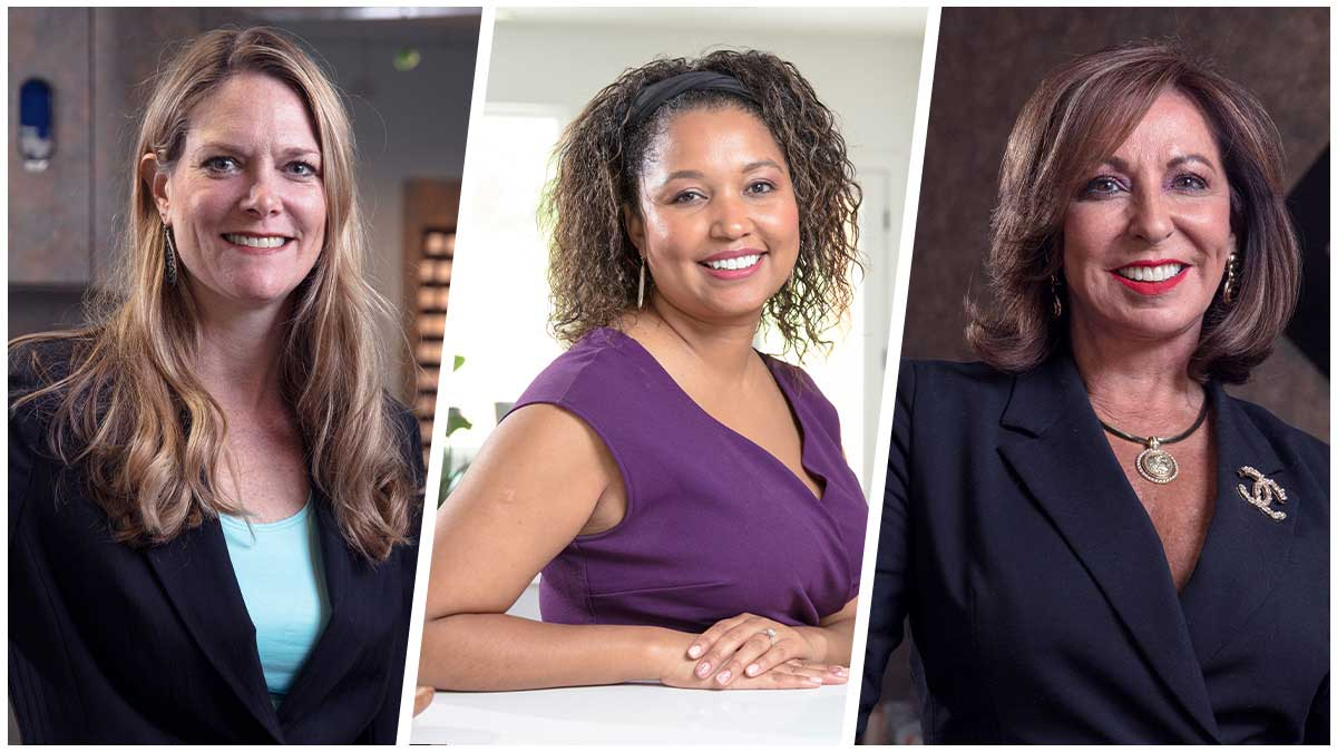 "Three women business owners in Edmond, Dr. Shannon Lewis, Ruthie Gallardo-Owens, and Victoria Woods (Photo: <a href=""https://edmondbusiness.com/author/brent-fuchs/"">Brent Fuchs</a>)"